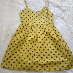 Dresses & Skirts - Yellow Polka Dot Dress